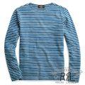 RRL/ダブルアールエル : Indigo Striped Pocket Tee [ストライプ/インディゴ/長袖Tシャツ]