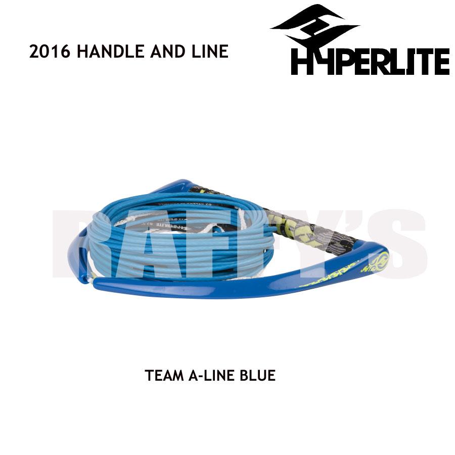 HYPERLITE ハイパーライト 2016 ハンドル&ライン セット Team Handle A-Line Blue
