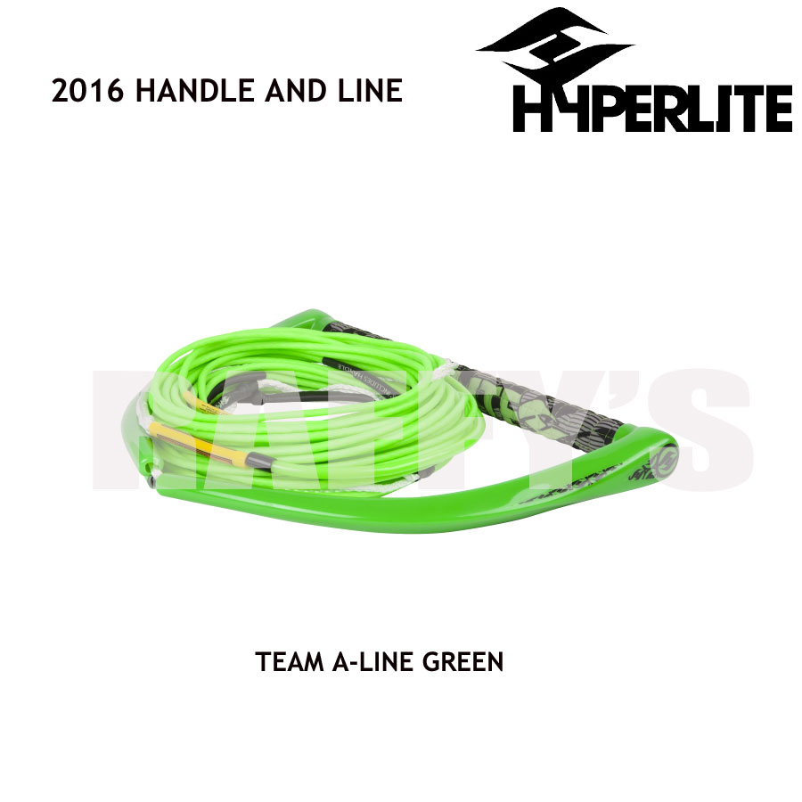HYPERLITE ハイパーライト 2016 ハンドル&ライン セット Team Handle X-Line Green