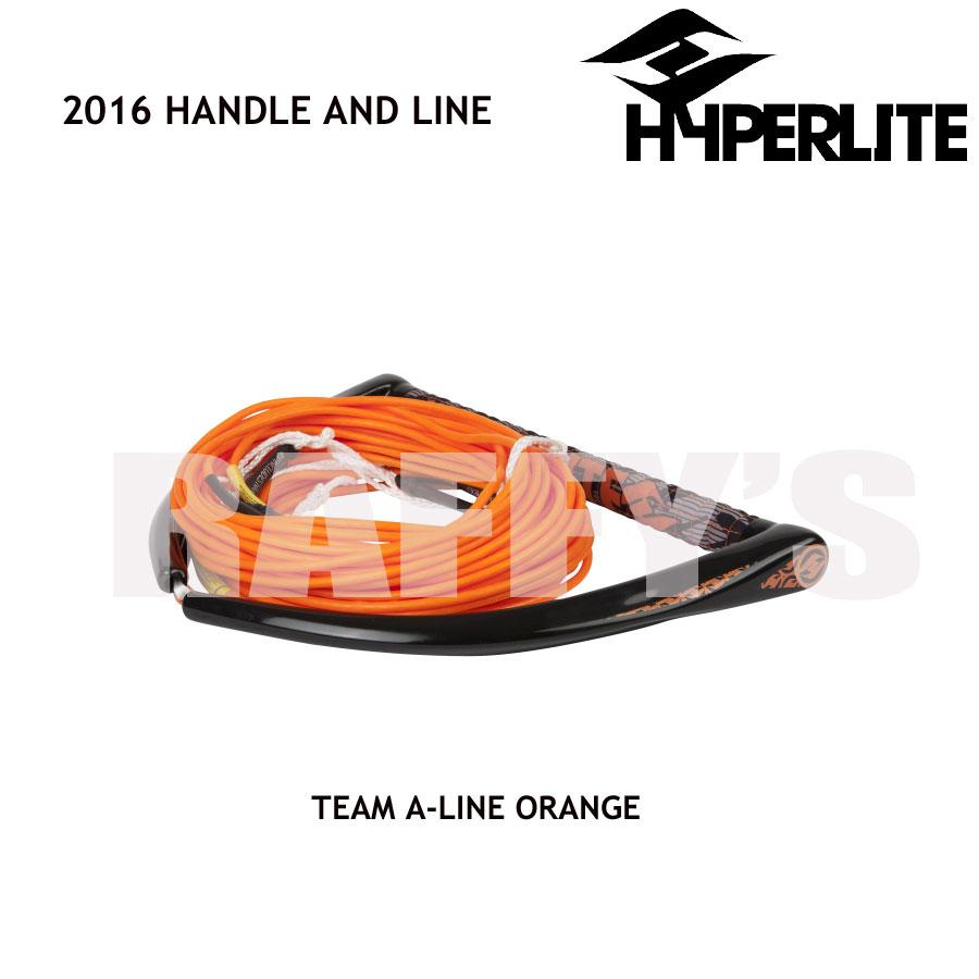 HYPERLITE ハイパーライト 2016 ハンドル&ライン セット Team Handle X-Line Orange