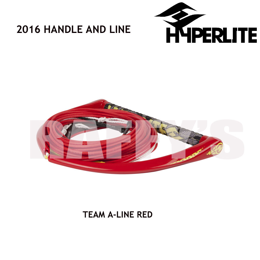 HYPERLITE ハイパーライト 2016 ハンドル&ライン セット Team Handle A-Line Red