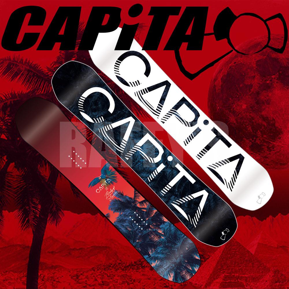 15-16 CAPITA キャピタ Birds Of a Feather バード オブ ア フェザー144cm スノーボード レディース/capita/15-16/2016