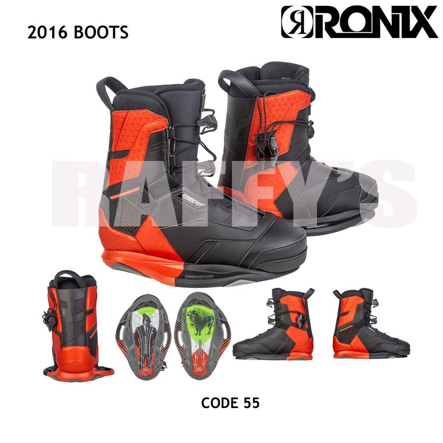 RONIX ロニックス 2016 Code 55 Boot Eclipse [ウェイクボード ブーツ]