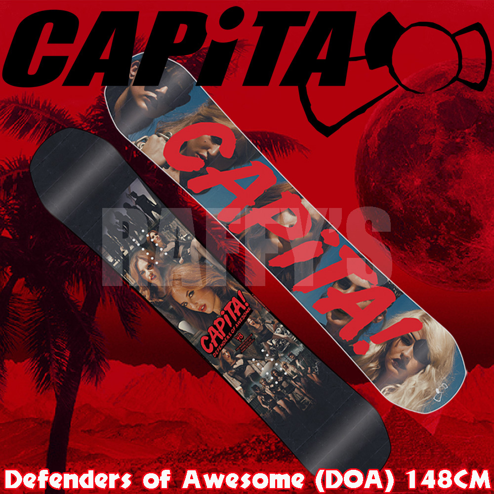 15-16 CAPITA キャピタ スノーボード Defenders Of Awesome D.O.A 148cm ディフェンダーズ オブ オウサム/capita/15-16/2016