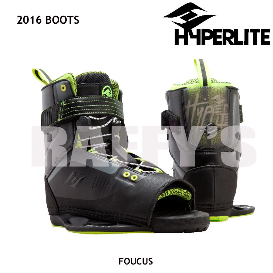 HYPERLITE ハイパーライト 2016 ウェイクボード ブーツ Focus フォーカス US:7-10.5
