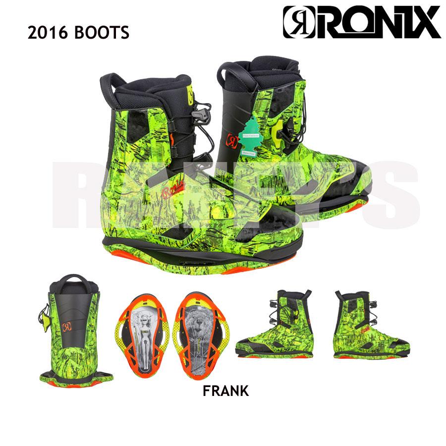 RONIX ロニックス 2016 Frank Boot フランク ブーツ ウェイクボード