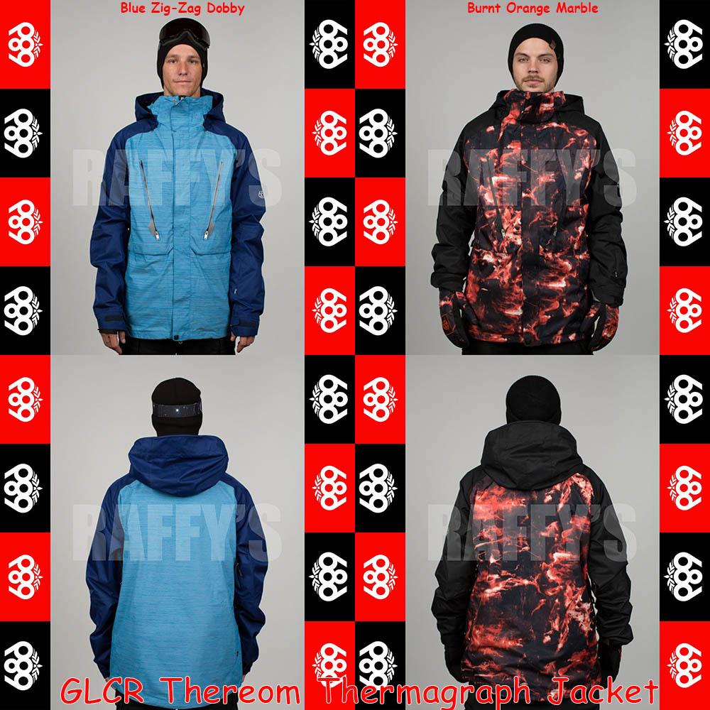 15-16 686 スノーボード メンズ ウェア GLCR Thereom Thermagraph Jacket ジャケット/686/15-16/ウエア/2016