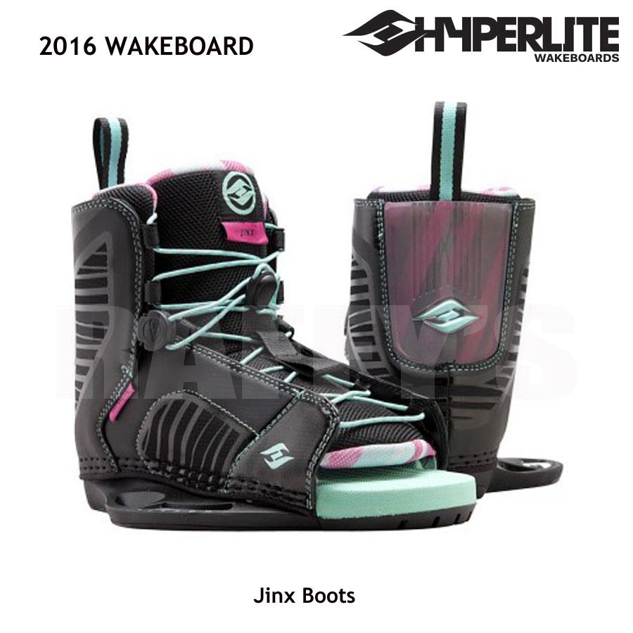 HYPERLITE ハイパーライト 2016 ウェイクボード レディース ブーツ Jinx US:4-8.5