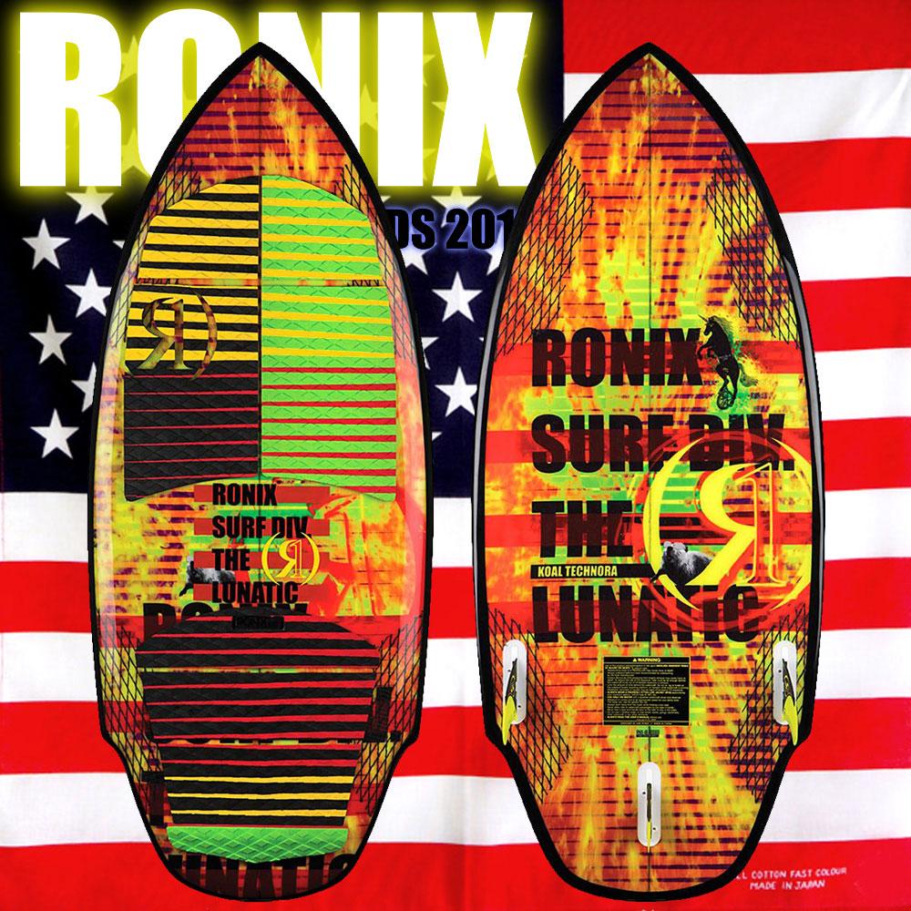 """ロニックス RONIX 2018 ウェイクサーフィン Koal Technora The Lunatic 5'1"""""""