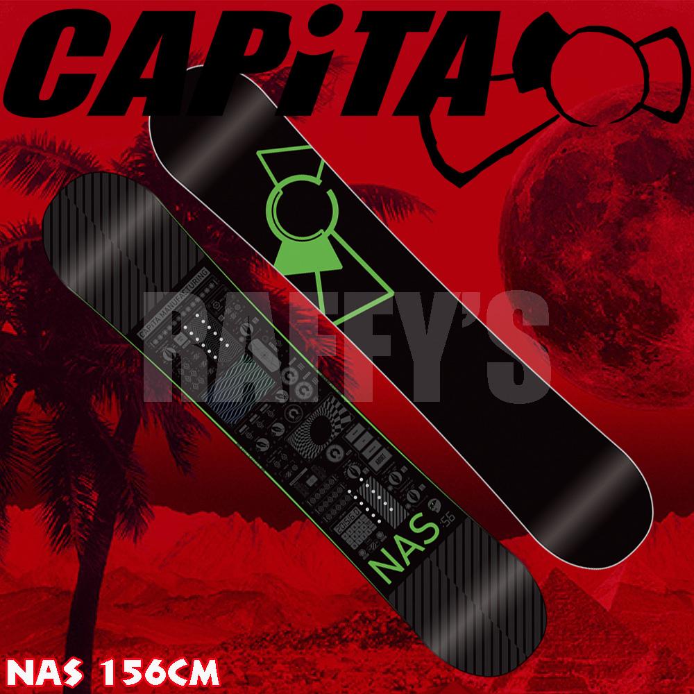 15-16 CAPITA キャピタ スノーボード NAS ナス 156cm/capita/15-16/2016