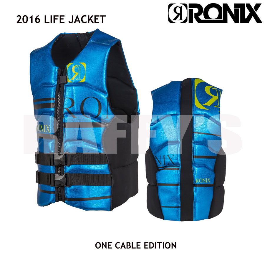 RONIX ロニックス 2016 One Cable Edition Front Zip Impact Jacket ライフジャケット ベスト
