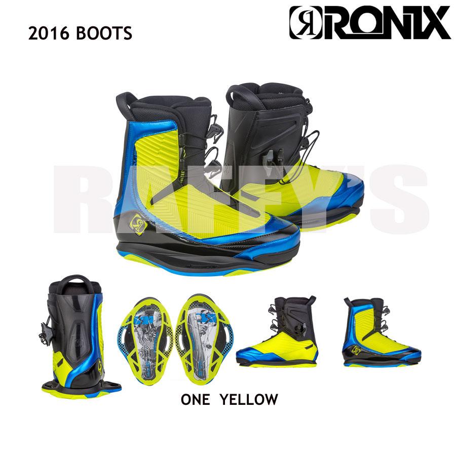 RONIX ロニックス 2016 One Boot YELLOW ワンブーツ [ウェイクボード]