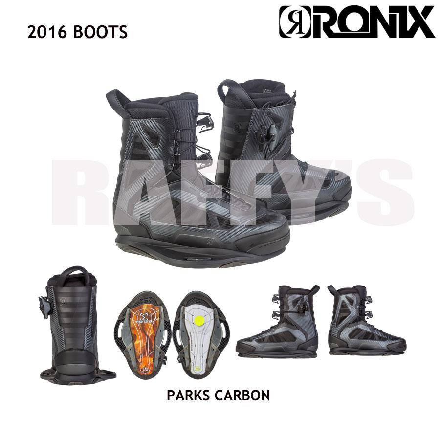 RONIX ロニックス 2016 Parks Boot Carbon パークス ウェイクボード ブーツ