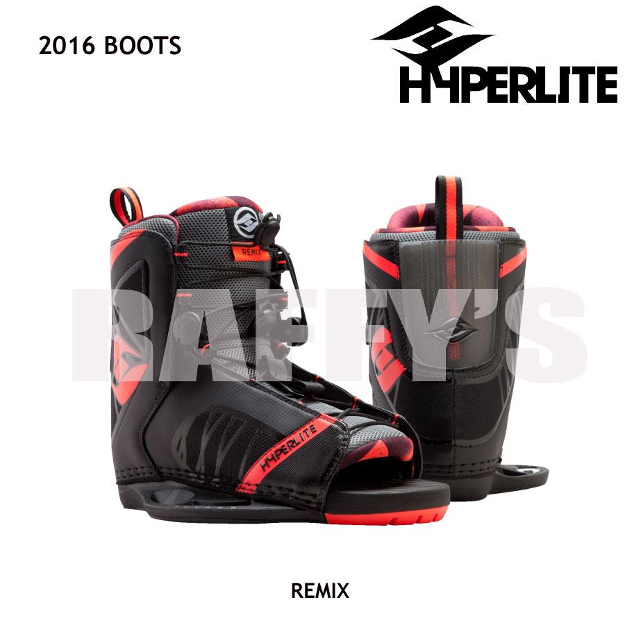 HYPERLITE ハイパーライト 2016 ウェイクボード ブーツ Remix リミックス US:7-10.5