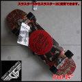 """GRAVITY グラビティ スケートボード POOL 34"""" スラスター2or3搭載 RED"""