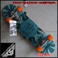 """GRAVITY グラビティ スケートボード POOL 36"""" スラスター2or3搭載 BLUE"""