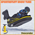 スノー・エアーチューブ 雪遊び 雪そり スノーボート SPORTSSTUFF DESCENDER Sled 手動ポンプ付