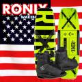 2017 ウェイクボード セット RONIX ロニックス District 138cm+Divide Boot US:7.5-11.5
