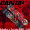 15-16 CAPITA キャピタ スノーボード Defenders Of Awesome D.O.A 150cm ディフェンダーズ オブ オウサム/capita/15-16/2016