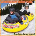 スノーチューブ・エアーチューブ 雪遊び 雪そり スノーボート SPORTSSTUFF DOUBLE AMERISPORT Snow Tube