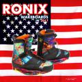 2017 ウェイクボード ブーツ RONIX ロニックス Frank Boot フランク