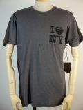 送料無料!!【JUNK FOOD】 ジャンクフード Tシャツ I LOVE NY  メンズ 半袖 NY029