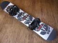 新品 NITRO  スノーボード セット SWINDLE 157+BURTON FREESTYLE BLACK Mサイズ