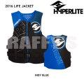HYPERLITE ハイパーライト 2016 ウェイクボード ライフジャケット INDY NEO VEST BLAK/BLUE