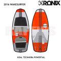 "RONIX ロニックス 2016 ウェイクサーフィン Koal Technora Powertail 4'11"" 149.86cm"