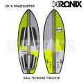 """RONIX ロニックス 2016 ウェイクサーフィン Koal Technora Thruster 5'7"""" 170.18cm"""