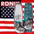 2017 ウェイクボード セット RONIX ロニックス レディース Krush 128cm+Halo Boot US:6-8.5