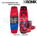 RONIX ロニックス 2016 ウェイクボード レディースセット Limelight ライムライト 132cm+Limelight Boot US:6-7