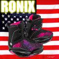 ロニックス RONIX 2018 ウェイクボード レディース ライムライト ブーツ Limelight Boot