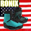 ロニックス RONIX 2018 ウェイクボード ワン ブーツ FLASH GREEN One Boot
