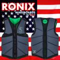 2017 ウェイクボード ライフジャケット RONIX ロニックス One Custom Fit Impact Jacket Gun Metal