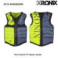 RONIX ロニックス 2016 One Custom Fit Front Zip Impact Jacket ライフジャケット ベスト