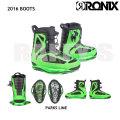 RONIX ロニックス 2016 Parks Boot Iridescent Lime パークス ブーツ ウェイクボード ブーツ