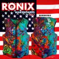 2017 ウェイクボード ライフジャケット RONIX ロニックス Parks Athletic Cut Impact Jacket Splattered