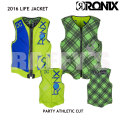 RONIX ロニックス 2016 Party Athletic Cut Front Zip Reversible Impact Jacket ライフジャケット ベスト
