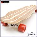 WHITE WAVE ロングスケートボード SHOCKER 39インチ ロンスケ コンプリート  ホワイト ウェーブ ロングボーズ