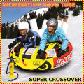 スノー・エアーチューブ 雪遊び 雪そり スノーボート SPORTSSTUFF SUPER CROSSOVER Snow Tube 手動ポンプ付