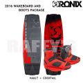 RONIX ロニックス 2016 ウェイクボード セット Vault ヴォルト 139cm+Cocktail Boot US:8-9