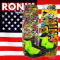 2017 ウェイクボード 子供用セット RONIX ロニックス Vision 120cm+Vision Boot US:2-6