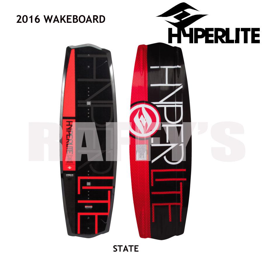 HYPERLITE ハイパーライト 2016 ウェイクボード STATE 2.0 140cm