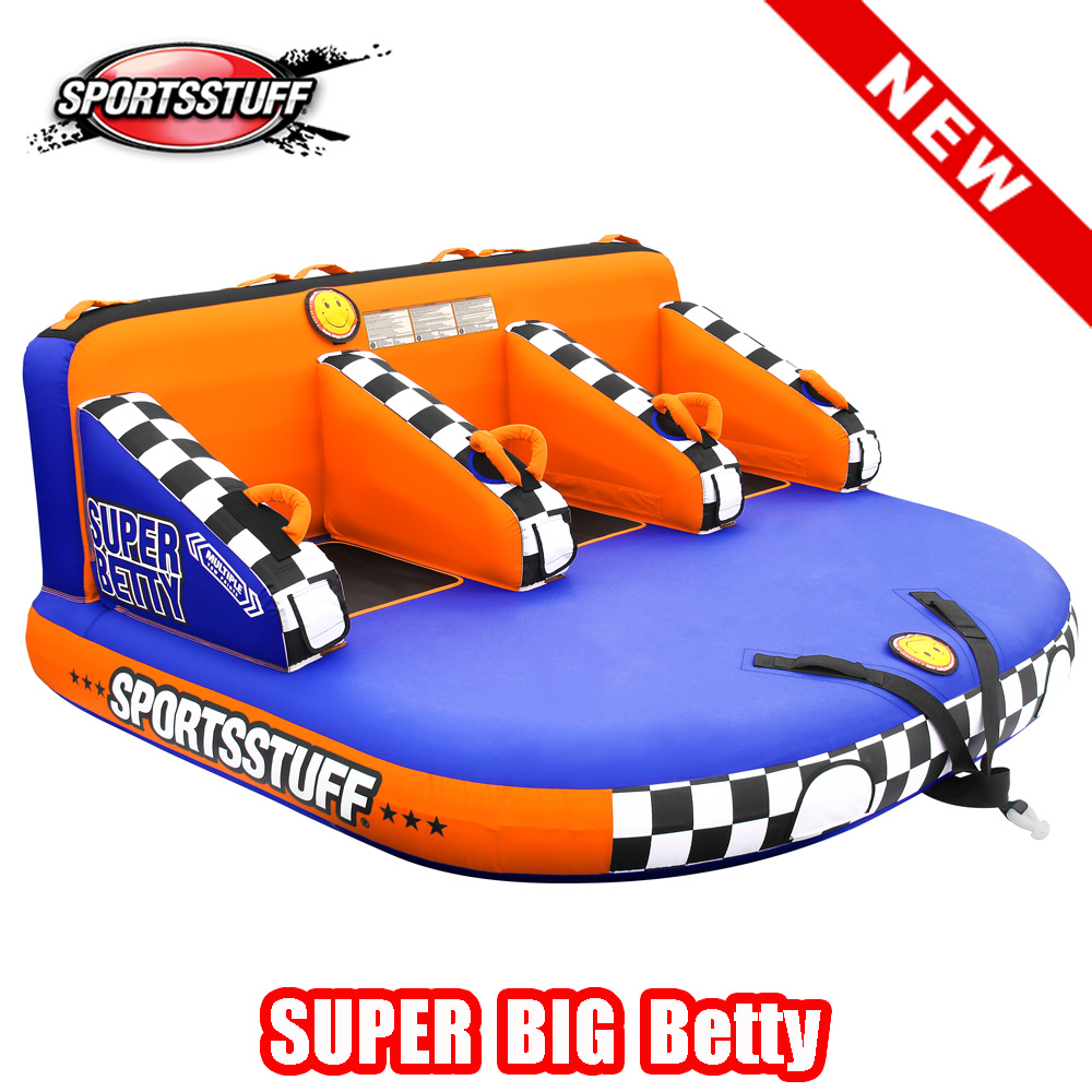 トーイングチューブ SPORTSSTUFF SUPER BIG BETTY 3人乗り スポーツスタッフ スーパービッグベティ