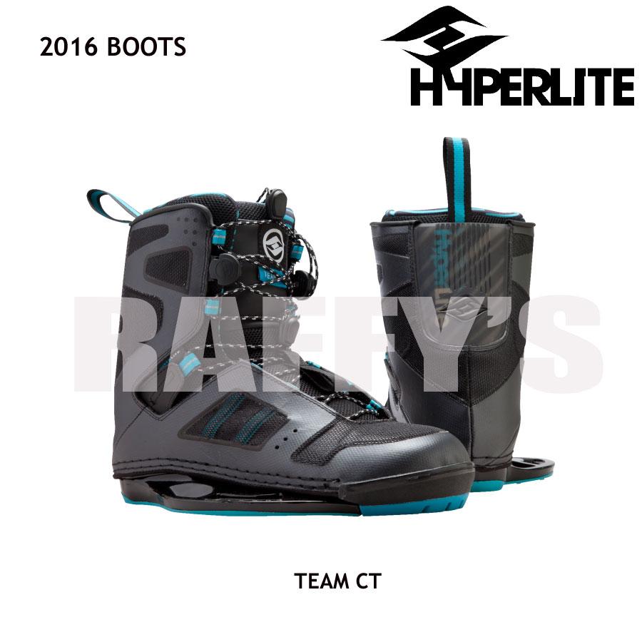 HYPERLITE ハイパーライト 2016 ウェイクボード ブーツ Team CT US7-8
