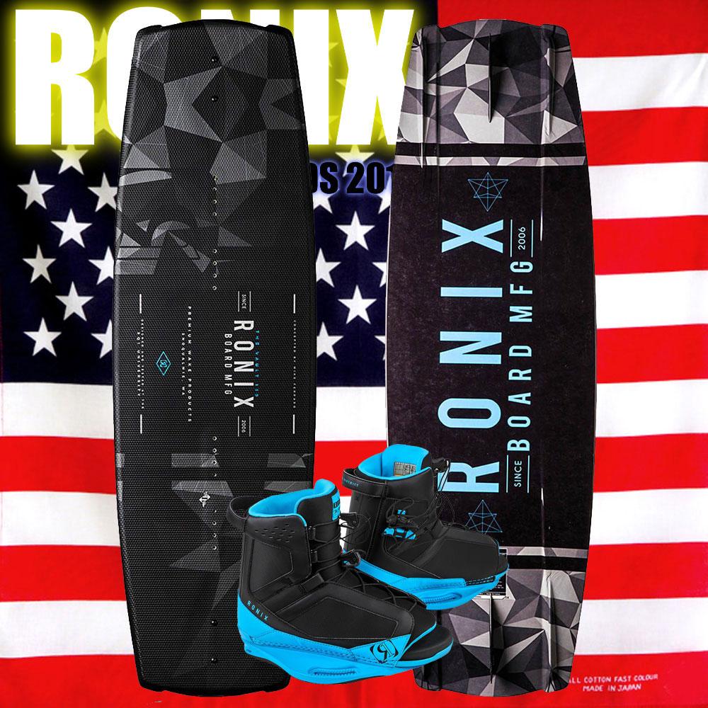 ロニックス RONIX 2018 ウェイクボード セット Vault 134+District Boot