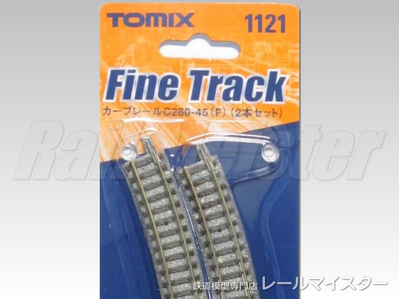 トミックス カーブレール C280-45(F) 2本セット[1121]