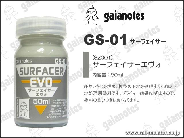 ガイアノーツ GS-01 サーフェイサーエヴォ[82001]
