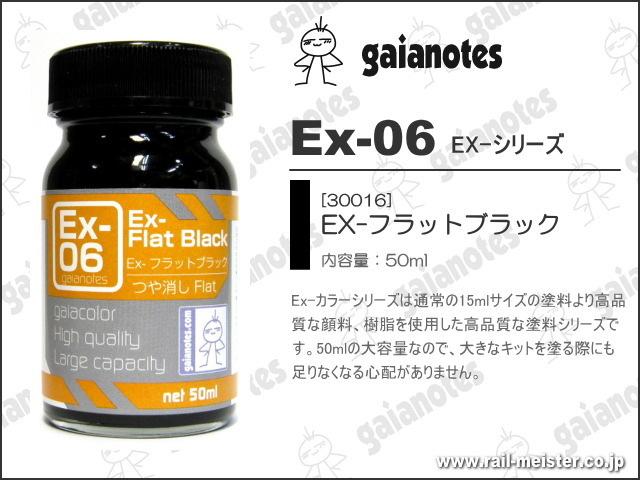 ガイアノーツ Ex-06 Ex-フラットブラック[30016]